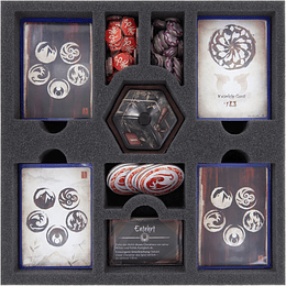 FELDHERR FOAM SET FOR LEGEND OF THE FIVE RINGS: THE CARD GAME - CORE BOX (A pedido)