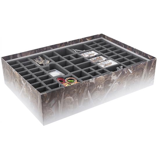 FOAM TRAY VALUE SET FOR THE CONAN KICKSTARTER BARBARIAN AND KING PLEDGE AND ALL STRETCH GOALS (Pedido)