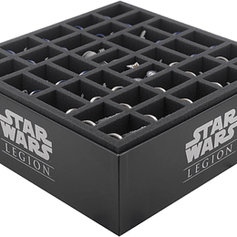 ESPUMA FELDHERR PARA STAR WARS: LEGION CLONE WARS - CORE BOX (Pedido)