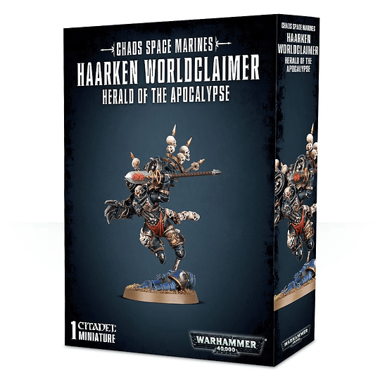 Warhammer 40,000: Haarken Worldclaimer, Herald of the Apocalypse (Pedido)