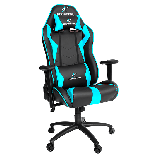 Silla Dragster GT500 Sky Blue Gaming Chair - Image 1