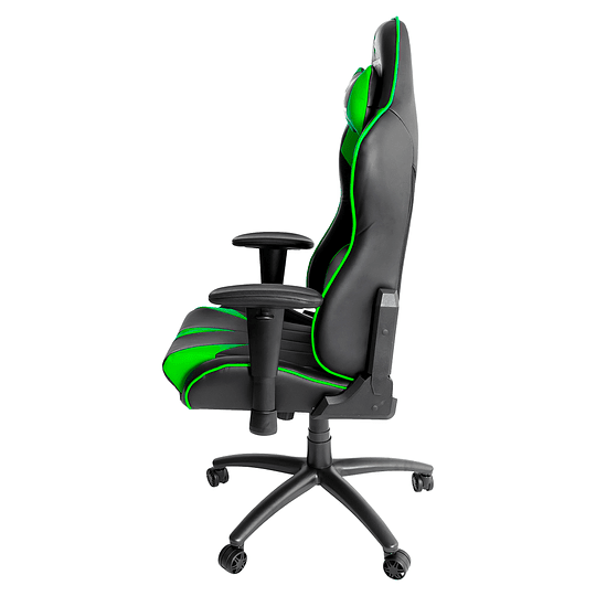 Silla Dragster GT500 Electric Green Gaming Chair - Image 4