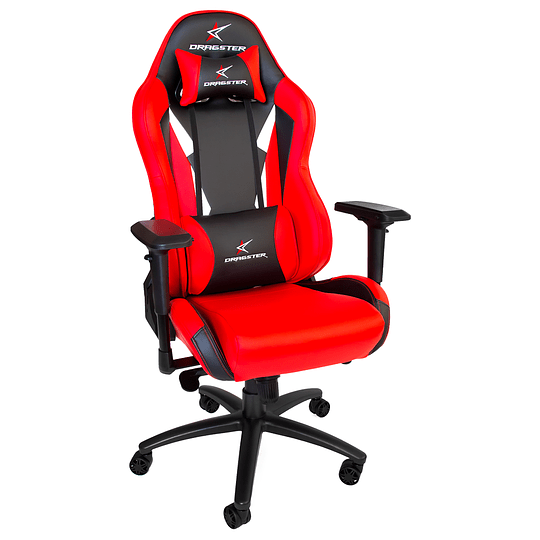 Silla Dragster GT600 Fury Red Gaming Chair - Image 1