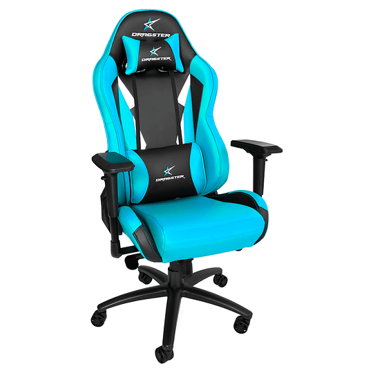 Silla Dragster GT600 Sky Blue Gaming Chair - Image 1