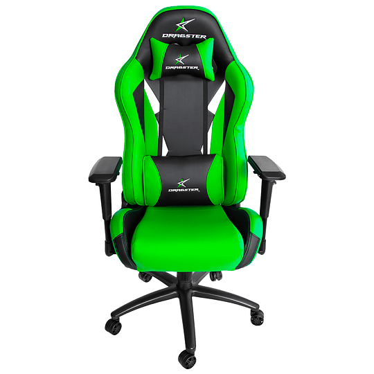 Silla Dragster GT600 Electric Green Gaming Chair - Image 2