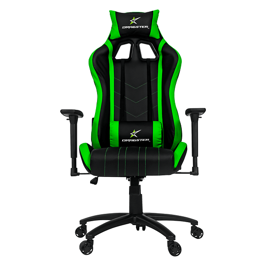 Silla Dragster GT400 Electric Green Gaming Chair - Image 2