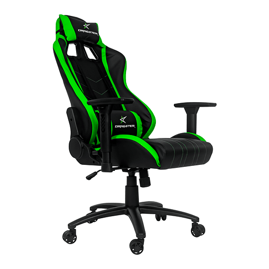 Silla Dragster GT400 Electric Green Gaming Chair - Image 6
