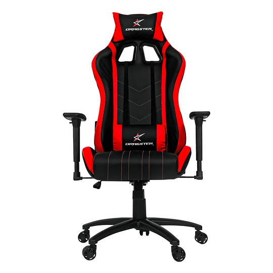 Silla Dragster GT400 Fury Red Gaming Chair - Image 2