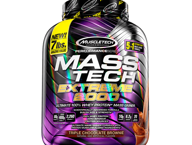 Mass Tech Extreme 2000, Ganador de peso (7 Lbs) Muscletech