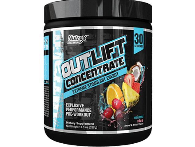 Outlift Concentrate, Pre workout (327 gr)