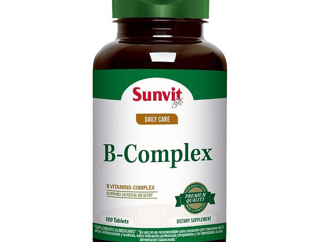 Complejo Vitaminico B 100 cápsulas