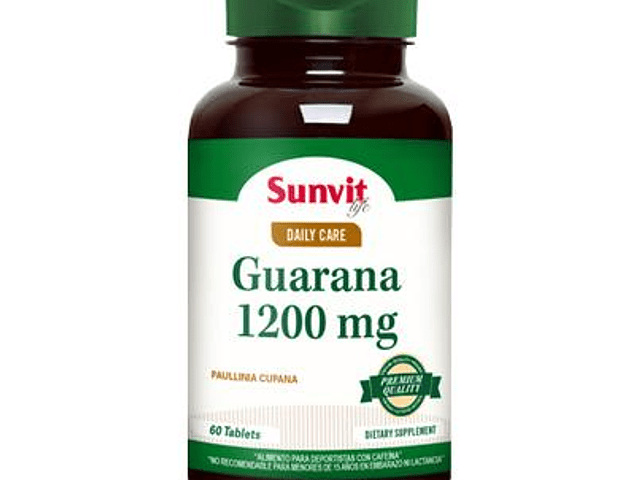 Guarana 1200 mg (60 tabs)