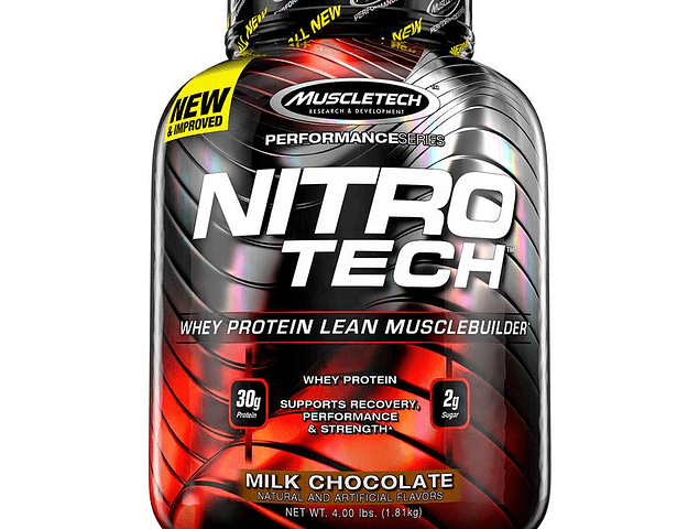 NITRO TECH PERFORMANCE 4 libras