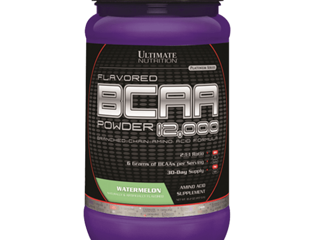 BCAA Powder 12000 Ultimate Nutrition 457g (60 servicios)
