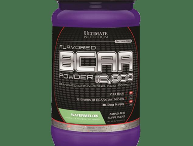 BCAA Powder 12000 Ultimate Nutrition 457g (60 servicios)