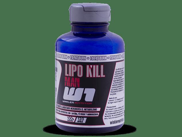LIPO KILL MAN 120 CÁPSULAS