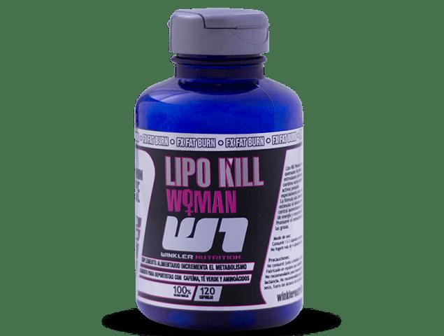 LIPO KILL WOMAN 120 CÁPSULAS