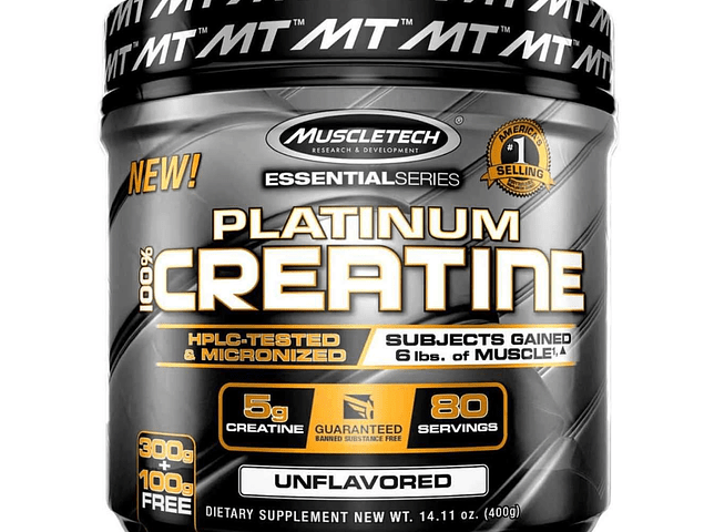 CREATINA MUSCLETECH 400g