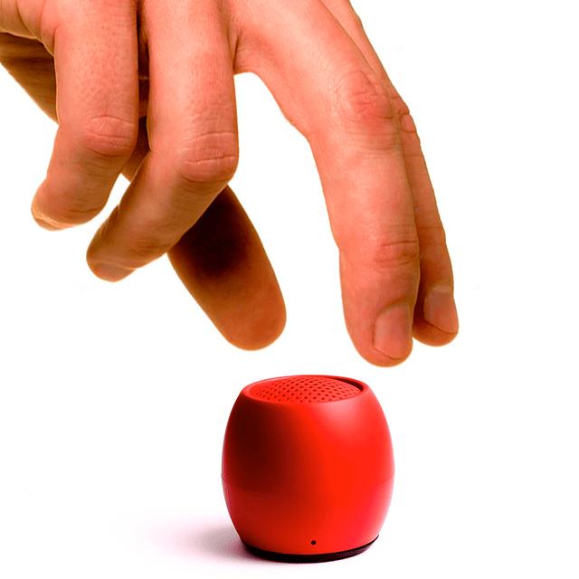Parlante bluetooth zero rojo