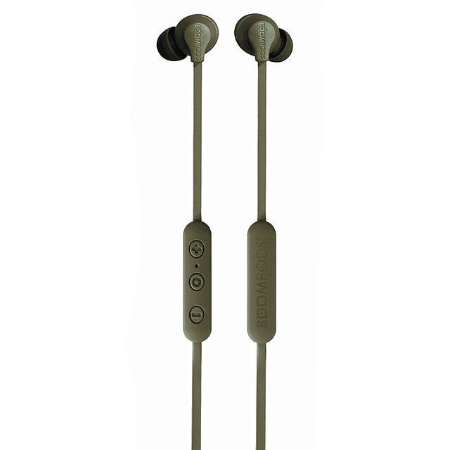 Audífono bluetooth sportline verde
