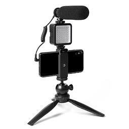 Micrófono con luz LED AU-CM11PL pro