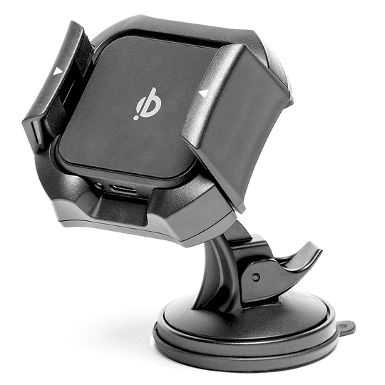 Soporte y cargador inalámbrico para auto - Image 1