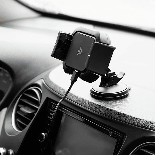 Soporte y cargador inalámbrico para auto - Image 5