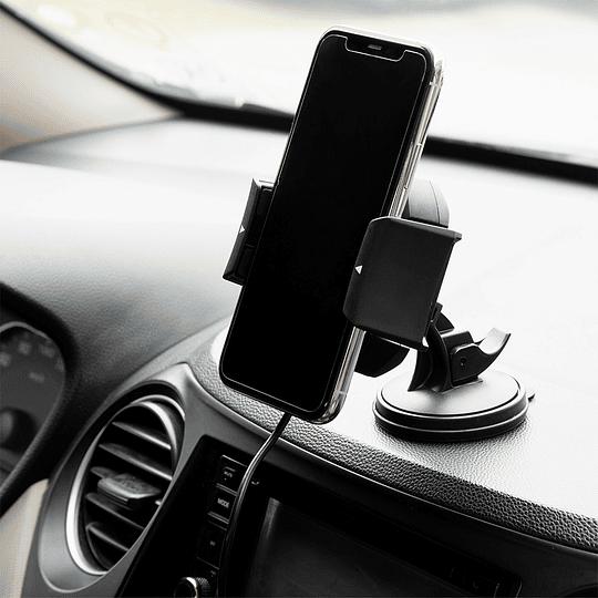Soporte y cargador inalámbrico para auto - Image 6