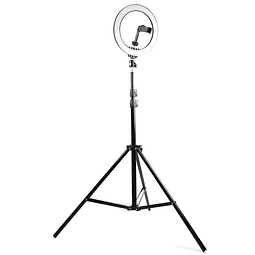 Aro de luz 26cm con tripode expandible HB-26C