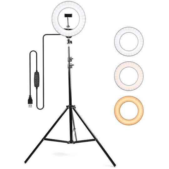 Aro de luz 26cm con tripode expandible HB-26C - Image 3