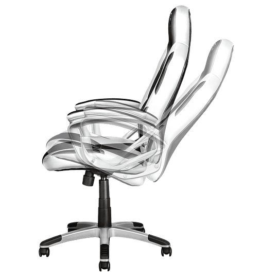 Silla gaming XT705W RYON color blanco - Image 2