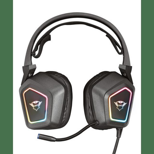 Audífono GXT450 BLIZZ 7.1 RGB Headset