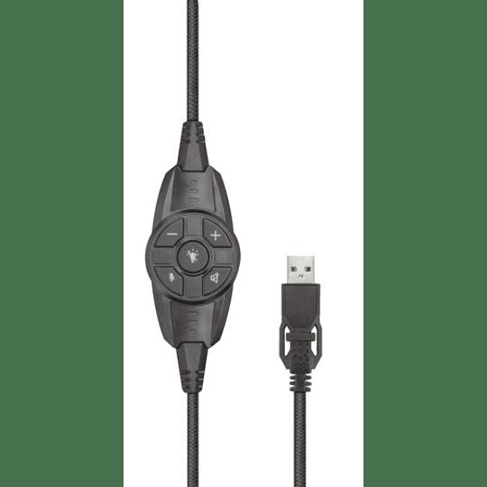 Audífono GXT450 BLIZZ 7.1 RGB Headset - Image 5