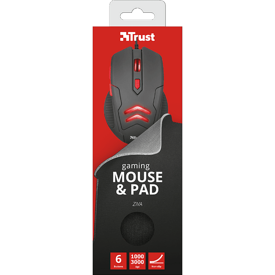 Pack ZIVA GAMING MOUSE & PAD - Image 5