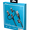 Cable KEYLA STRONG 3-IN-1 USB 1M