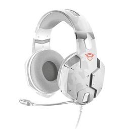 Audífonos GXT 322 W  Carus Dynamic Headset - SNOW