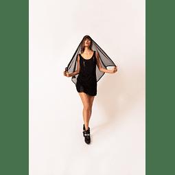 INDRA DRESS black