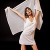 INDRA DRESS white