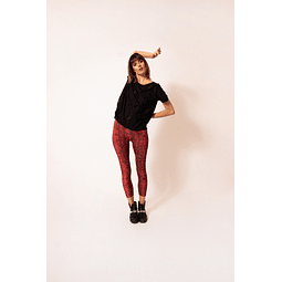 PINKU LEGGINGS red