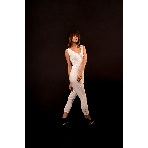 HAKA PANTS JUMPSUIT white