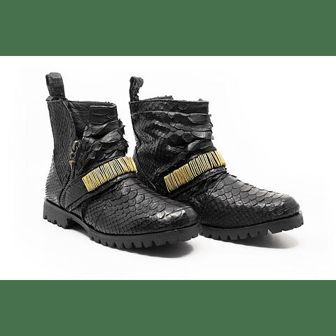 ZANDRA BOOTS brass