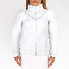 HAKIN LEATHER JACKET white