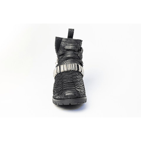 ZANDRA BOOTS silver