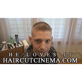 HaircutCinema.com - He Loves It