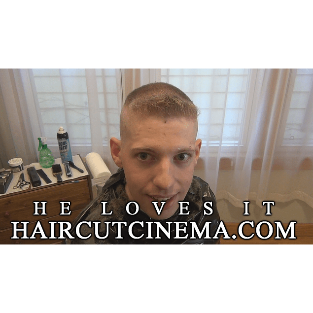 HaircutCinema.com - He Loves It