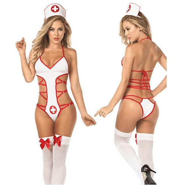 Disfraz enfermera Tipo 1