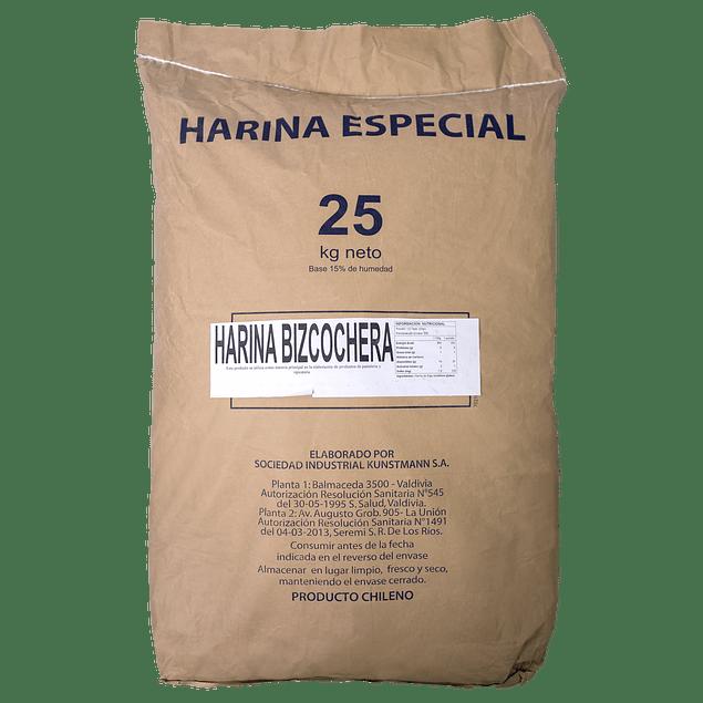 Harina Bizcochera 25 kg