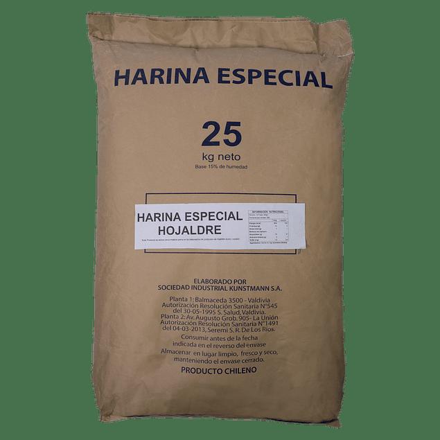 Harina Especial Hojaldre 25 kg Papel