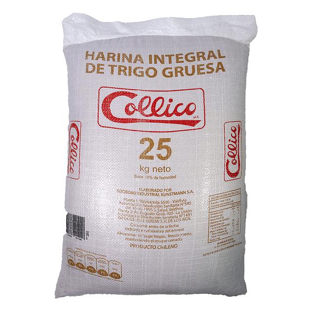 Harina Integral de Trigo 25 kg gruesa PPL