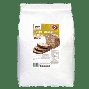 Harina Integral de Trigo 5 Kg Gruesa Papel